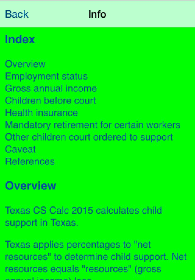 Calculate Texas Child Support Calculator